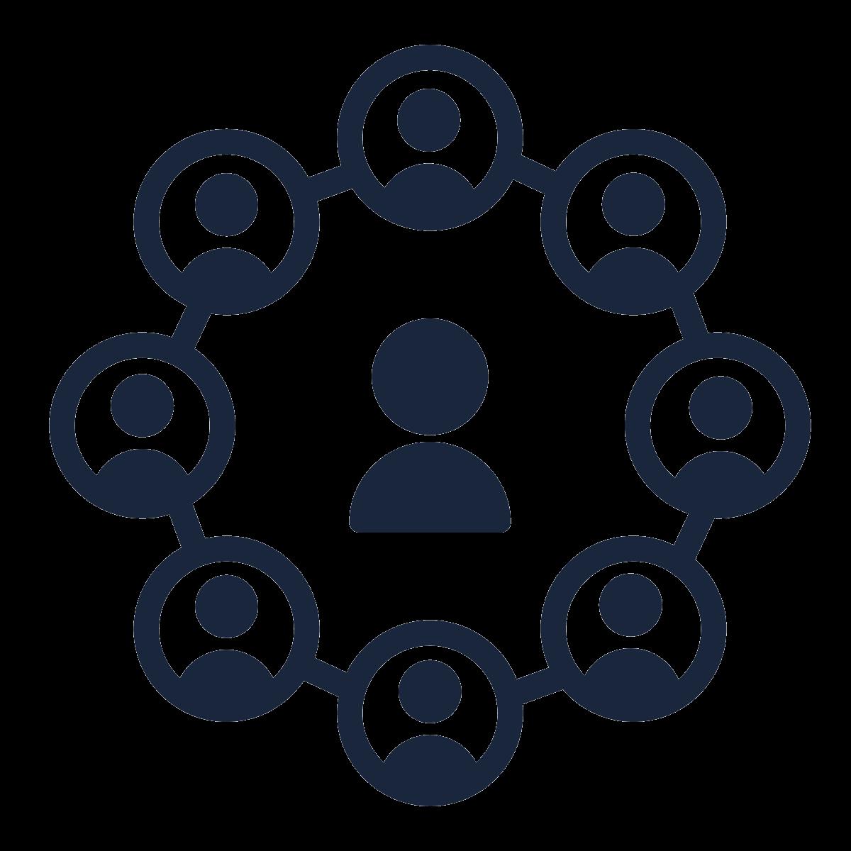 social cohesion icon